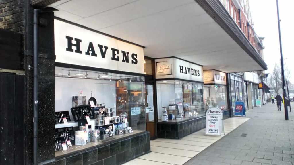 havens department store essex